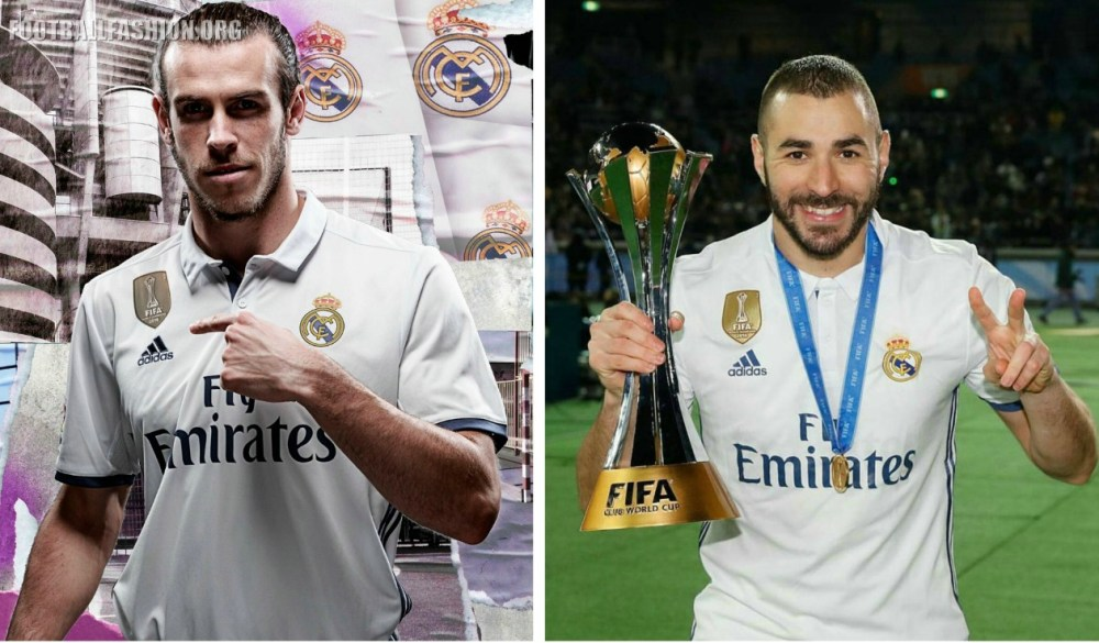 Real Madrid 2016 2017 FIFA World Club Cup Champions adidas White Home and Purple Away Football Kit, Soccer Jersey, Shirt, Camiseta de Futbol, Nueva Equipacion, Camisa, Campeones del Mundial Clubes