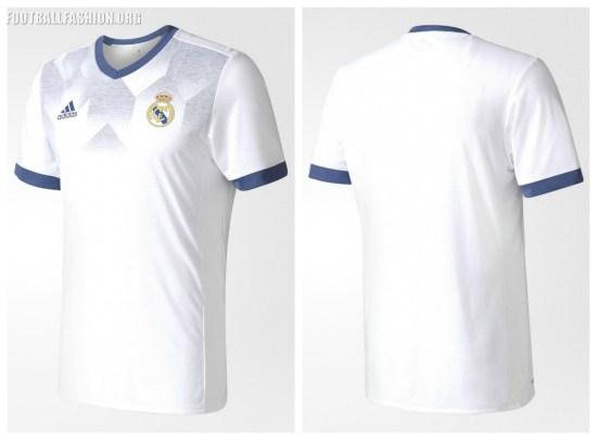 Real Madrid 2016 2017 adidas Pre-Match Football Kit, Soccer Jersey, Shirt, Camiseta de Futbol, Nueva Equipacion, Camisa, Trikot, Maillot