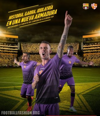 Barcelona SC 2017 Marathon Away Soccer Jersey, Football Kit, Shirt, Camiseta de Futbol