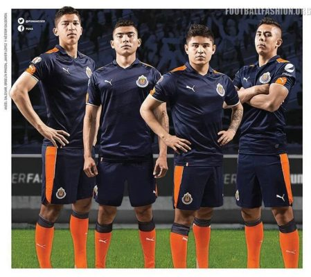 Chivas de Guadalajara 2017 PUMA Third Soccer Jersey, Shirt, Football Kit, Camiseta, Equipacion, Playera