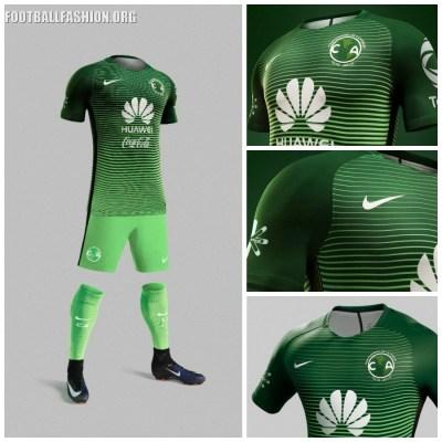 7969ae52c5 Club América 2017 Nike Third Soccer Jersey