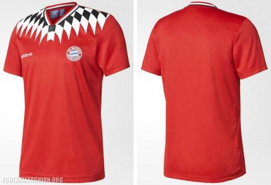 new concept 21456 d476f FC Bayern München 2017 adidas Originals Retro Jersey ...