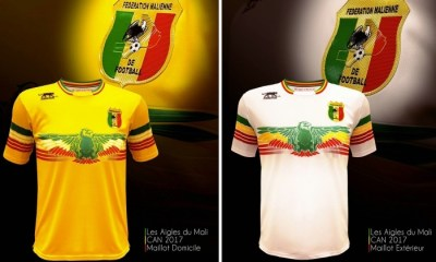 Mali 2017 Africa Cup of Nations Airness Football Kit, Soccer Jersey, Shirt, Maillot AFCON CAN 2017