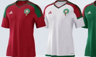 Morocco 2017 African Cup of Nations adidas Football Kit, Soccer Jersey, Shirt, Maillot