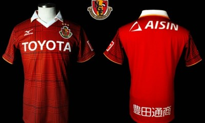 Nagoya Grampus 2017 Mizuno Home and Away Football Kit, Soccer Jersey, Shirt