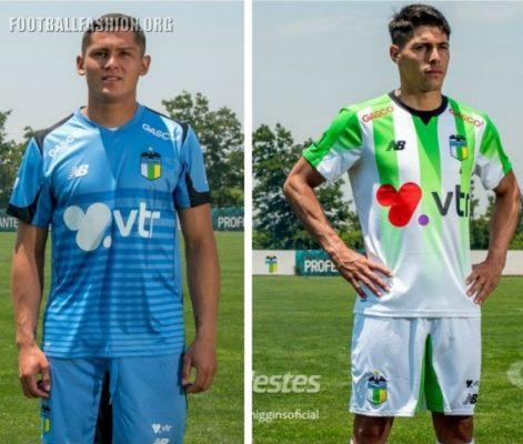 O'Higgins FC 2017 New Balance Home and Away Football Kit, Soccer Jersey, Shirt, Camiseta de Futbol. Equipacion, Playera