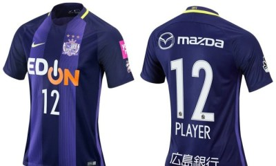 Sanfrecce Hiroshima 2017 Nike Home and Away Football KIt, Soccer Jersey, Shirt