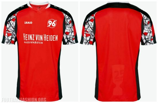 Hannover 96 Jako 2017 DFB-Pokal Champions 25th Anniversary Football Kit, Soccer Jersey, Shirt, Trikot 25 Jahre Pokalsieg