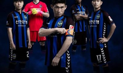 Incheon 2017 hummel Home and Away Football Kit, Soccer Jersey, Shirt