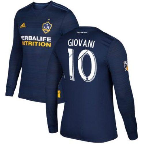 LA Galaxy 2017 adidas Away Soccer Jersey, Shirt, Football Kit, Camiseta de Futbol, Equipacion