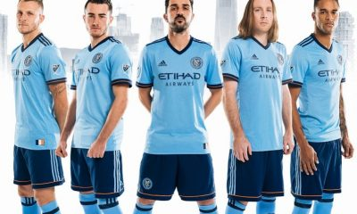 New York City FC 2017 adidas Home Soccer Jersey, Football Kit, Shirt, Camiseta de Futbol