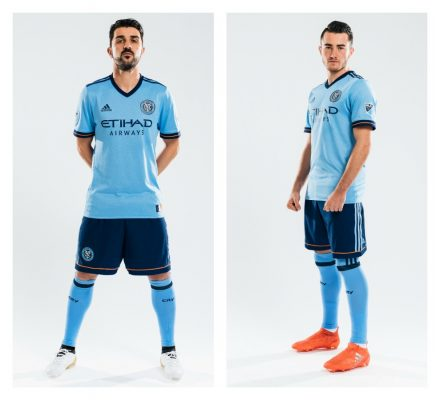 New York City FC 2017 adidas Home Soccer Jersey, Football Kit, Shirt, Camiseta de Futbol