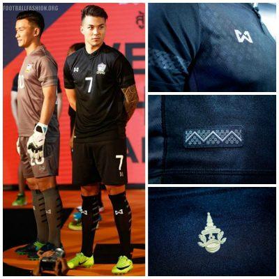 Thailand 2017 2018 Warrix Football Kit, Soccer Jersey, Shirt