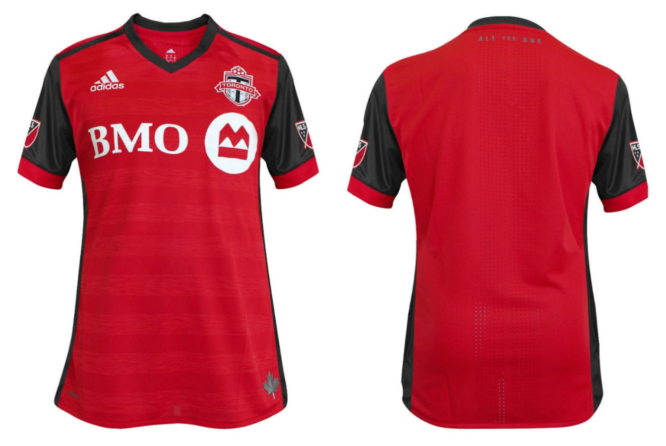 timeless design 0418b 6775b Toronto FC 2017 adidas Home Jersey - FOOTBALL FASHION.ORG