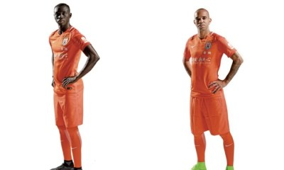 Shandong Luneng Taisha 2017 Nike Home Football Kit, Soccer Jersey, Shirt