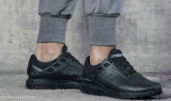 Xabi Alonso Unveils adidas' Limited Edition All Black UltraBOOST
