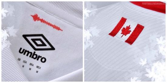 Canada 2017 2018 Umbro Home Soccer Jersey, Shirt, Football Kit, Maillot
