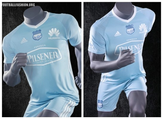 Emelec 2017 adidas Home, Away and Third Football Kit, Soccer Jersey, Shirt, Camiseta de Futbol