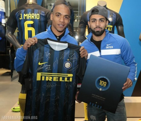 Inter Milan 109th Anniversary Nike Soccer Jersey, Football Shirt, Kit, Camiseta de Futbol, Maglia, Gara