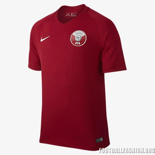 Qatar 2017 Nike Home Jersey Football Fashion Org