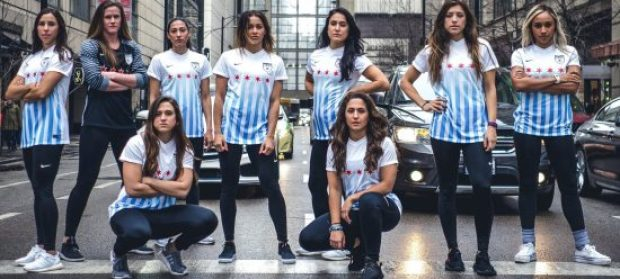 Chicago Red Stars 2017 Nike Home Soccer Jersey, Football Kit, Shirt