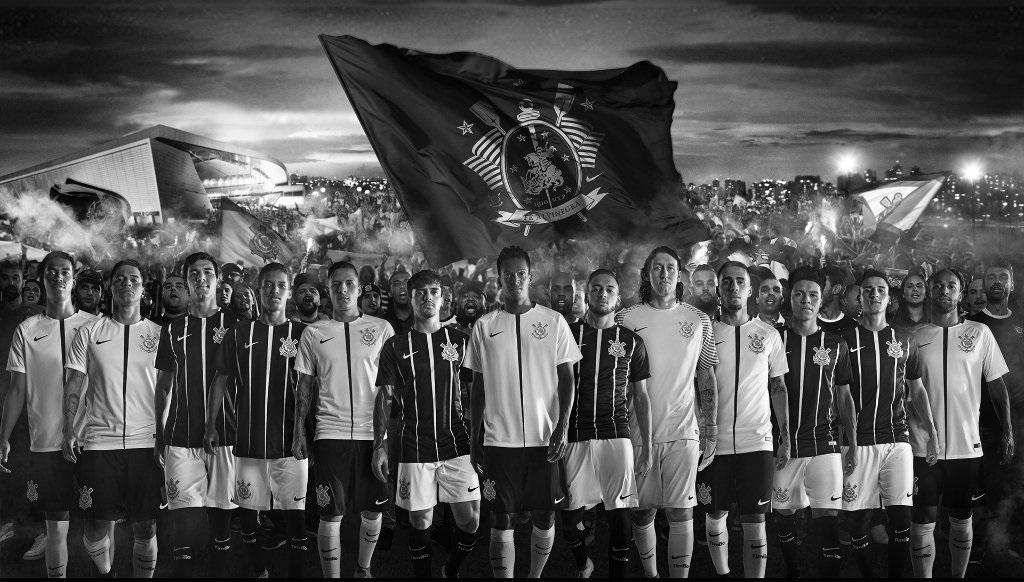 962bcc066 Corinthians Paulista 2017 18 Nike Home and Away Kits - Football Fashion