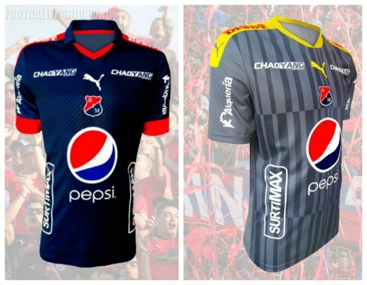 Independiente Medellín 2017 PUMA Home, Away and Third Football Kit, Soccer Jersey, Shirt, Camiseta de Futbol