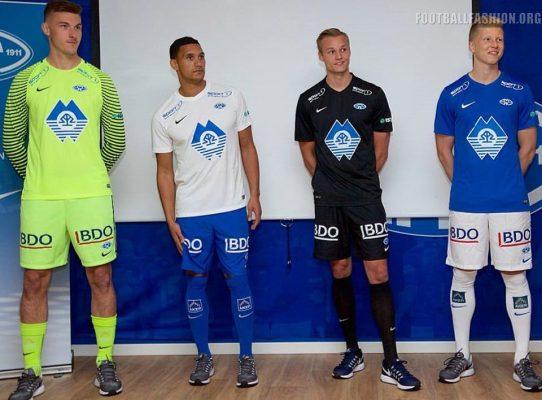 Molde FK 2017 Nike Home, Away and Third Football Kit, Shirt, Soccer Jersey, Drakt