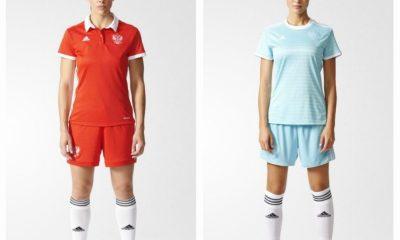 Russia Women's EURO 2017 adidas Home and Away Football Kit, Soccer Jersey, Shirt