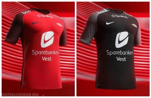 SK Brann 2017 Nike Home and Away Football Kit, Soccer Jersey, Shirt, Drakt, Fotballdrakt, Hjemmedrakt, Bortedrakt