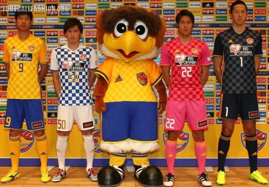 Vegalta Sendai 2017 adidas Home and Away Football Kit, Soccer Jersey, Shirt
