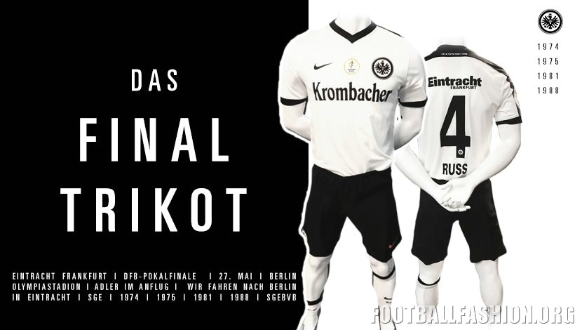 coupon code where to buy running shoes Eintracht Frankfurt 2017 DFB-Pokal Final Nike Kit - FOOTBALL ...
