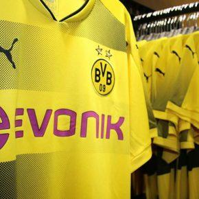 Borussia Dortmund 2017 2018 PUMA Home Football Kit, Shirt, Soccer Jersey, Trikot, Camiseta, Camisa, Maillot, Tenue