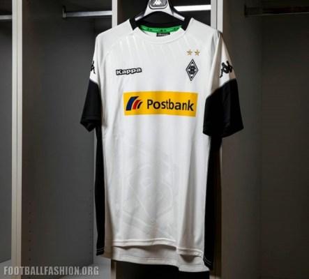 Borussia Mönchengladbach 2017 2018 Kappa Home Football Kit, Soccer JErsey, Shirt, Trikot, Heimtrikot