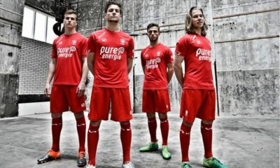 FC Twente 2017 2018 Sondico Home Football Kit, Soccer Jersey, Shirt, Thuisshirt, Tenue