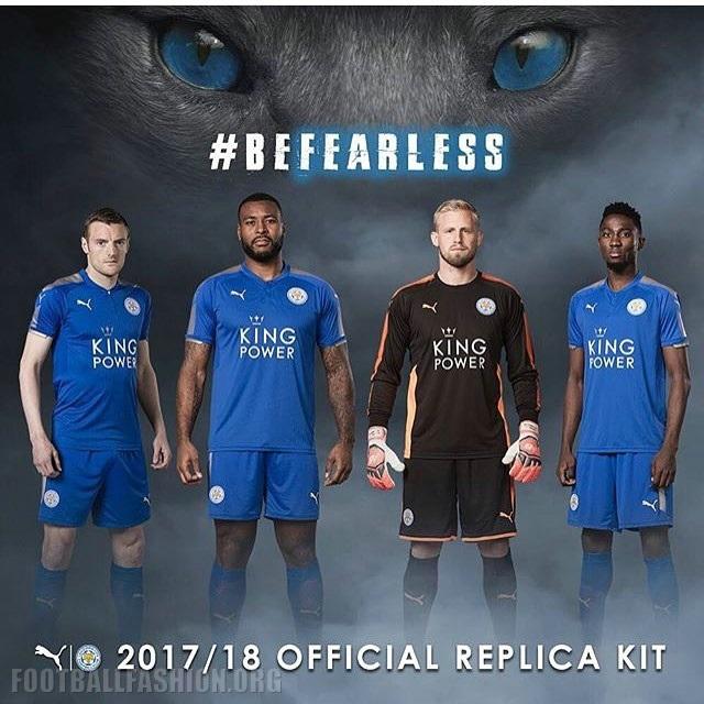 Premier League 17 Matchday Round Season 2018 2019: Leicester City FC 2017/18 PUMA Home Kit