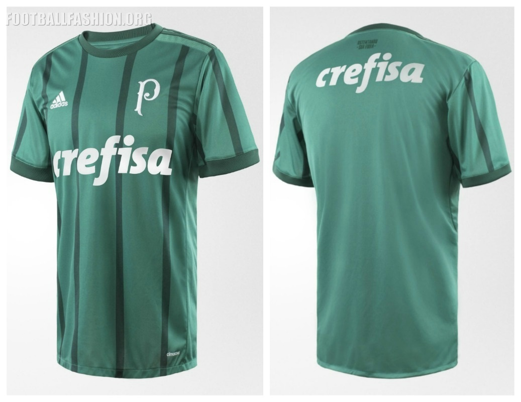 Palmeiras 2017 18 adidas Home Kit – FOOTBALL FASHION.ORG 1b0bfd731613c