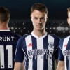 West Bromwich Albion 2017 2018 adidas Home Football Kit, Soccer Jersey, Shirt