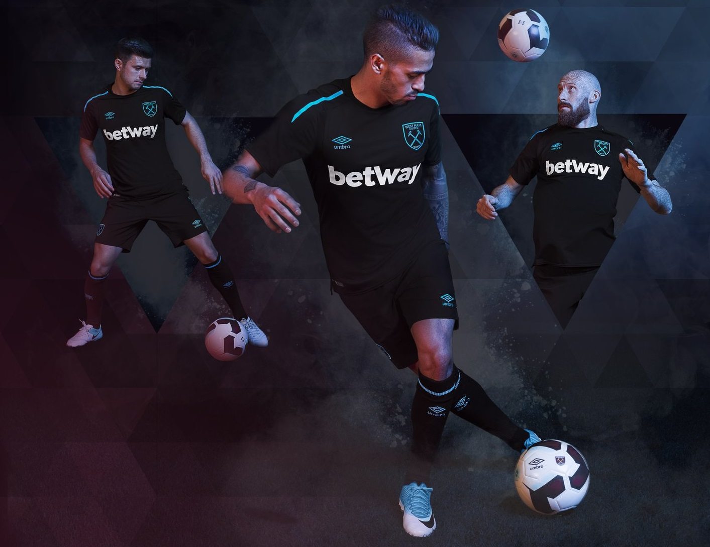 West Ham United 2017/18 Umbro Away Kit – FOOTBALL FASHION.ORG