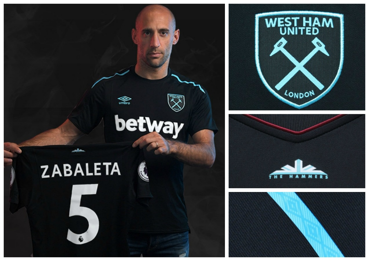 West Ham Jersey 2018 Release In 2017