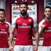 Arsenal FC 2017 2018 PUMA Home Football Kit, Soccer Jersey, Shirt, Maillot, Camiseta, Camisa, Trikot, Tenue, Equipacion
