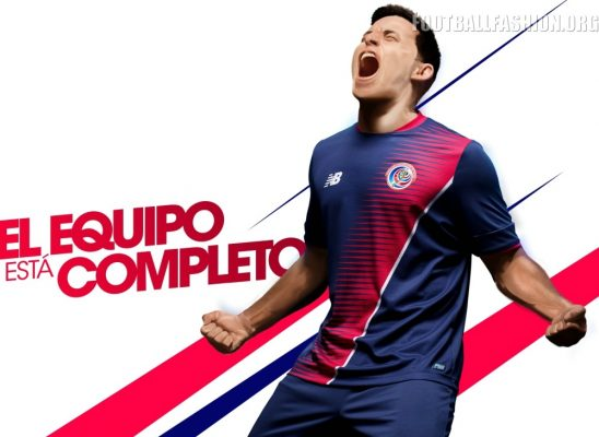 Costa Rica 2017 Gold Cup New Balance Third Football Kit, Soccer Jersey, Shirt, Camiseta de Fubol Copa Oro, Equipacion