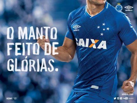 Cruzeiro 2017 2018 Umbro Home and Away Football Kit, Soccer Jersey, Shirt, Camisa
