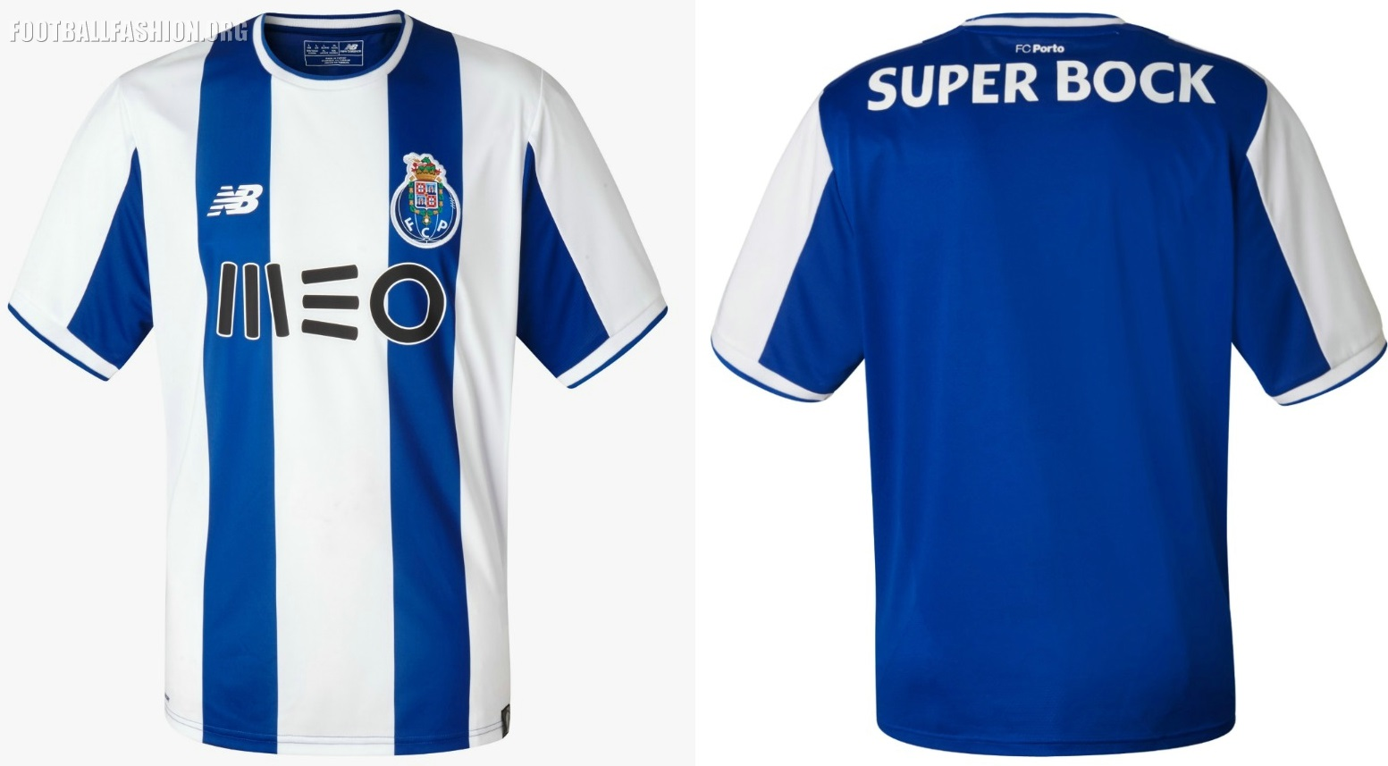 designer fashion cf411 7529e FC Porto 2017/18 New Balance Home Kit - FOOTBALL FASHION.ORG