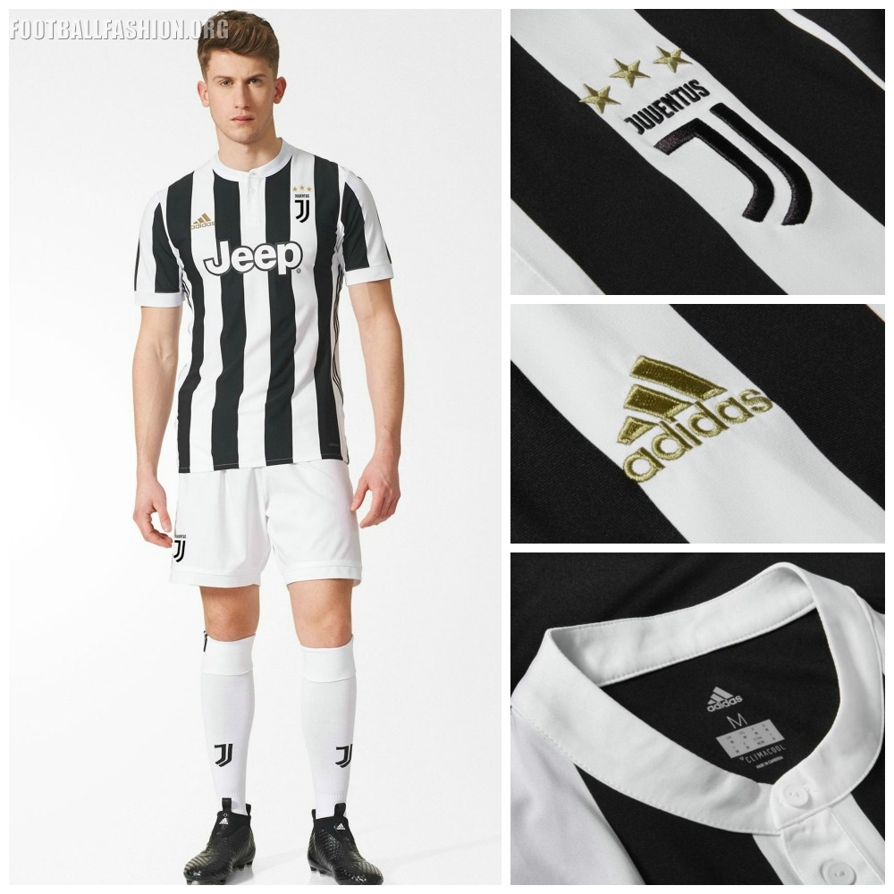 bf9402396 The Juventus 17 18 home kit will be the first to feature the club s  redesigned identity   Black and White and More . This philosophy is running  through ...