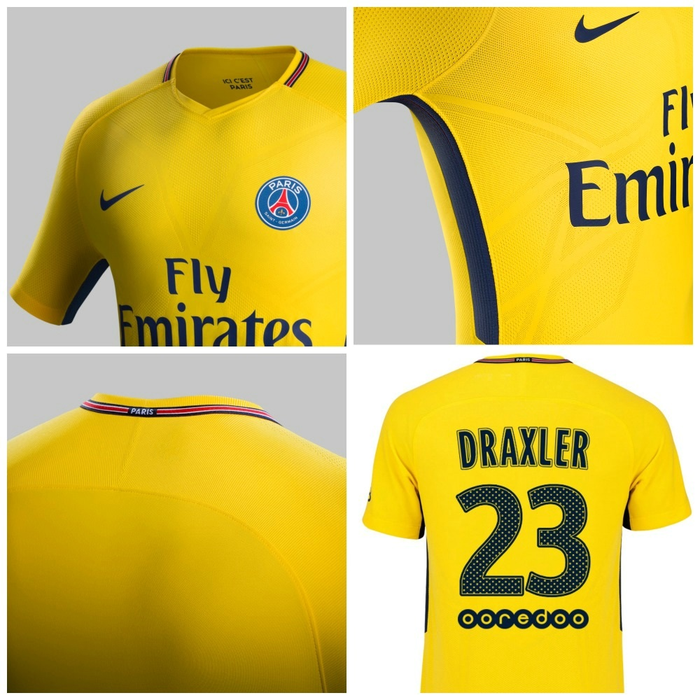 Psg: Paris Saint-Germain 2017/18 Nike Away Kit
