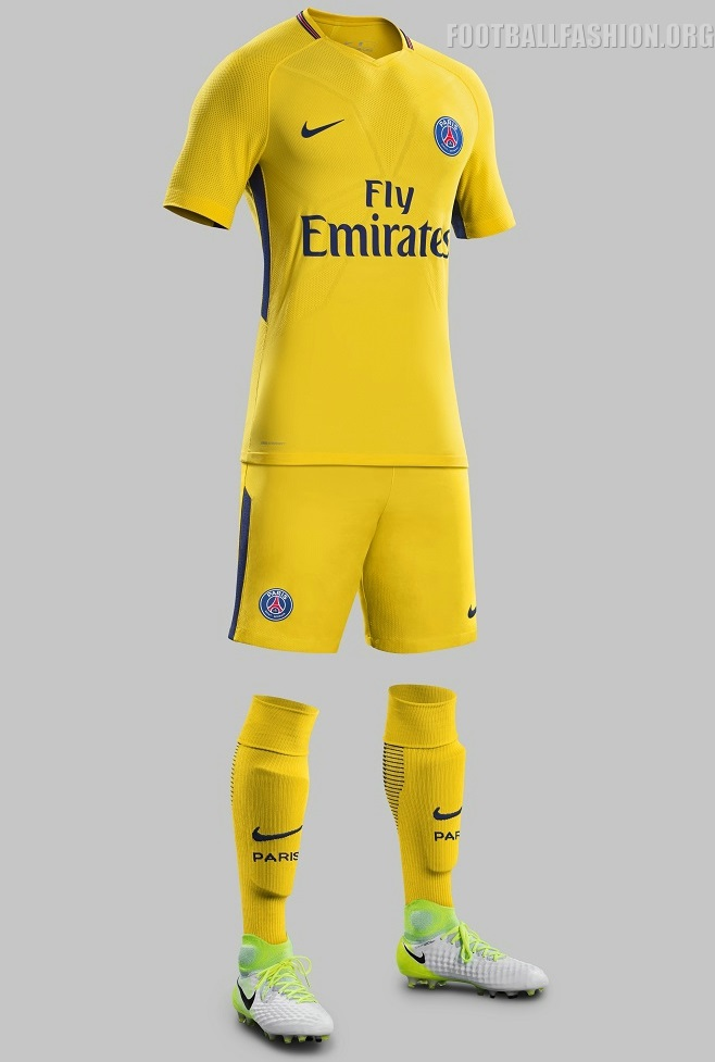 Paris Saint Germain 2017 18 Nike Away Kit Football