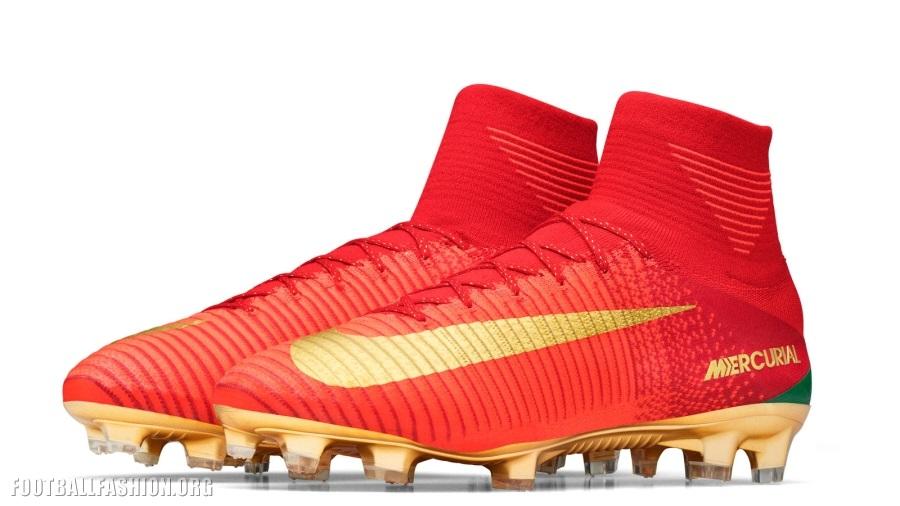 Nike mercurial cr7 2018 gold