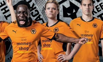 Wolverhampton Wanderers FC 2017 2018 PUMA Home Football Kit, Soccer Jersey, Shirt, Wolves