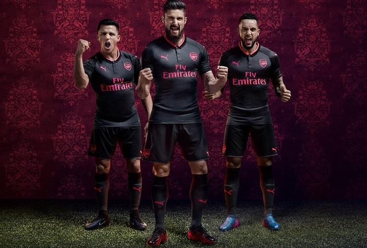 Arsenal FC 2017 18 PUMA Third Kit – FOOTBALL FASHION.ORG 1780635bc092c